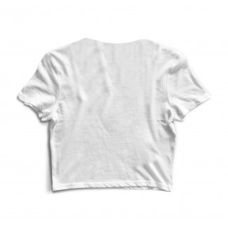 Cropped Morena Deluxe Small Double Shell Branco