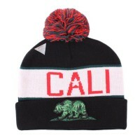 Gorro Cayler and Sons Beanie Black/Green/White/Red