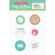 Flair Buttons - Creative Agenda