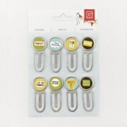 Paper clips - Serendipity & Shine On - Basic Grey