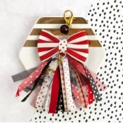 Charm - Pretty In Rouge - My Prima Planner