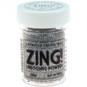 Pó para Emboss - Zing Glitter Finish Embossing Powder - Silver