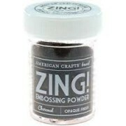 Pó para Emboss - Zing Opaque Finish - Charcoal