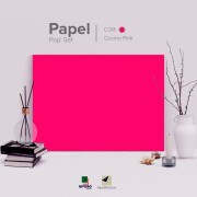 Papel Pop Set - Cosmo Pink 170g A4 - 25 Folhas