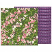 Papel Patio Party Collection - Wandering Wildflowers - 180gr - 30,5x30,5