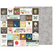 Papel Patio Party Collection - From Me To You - 180gr - 30,5x30,5