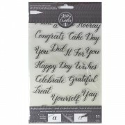 Clear Acrylic Stamps - Traceable - Celebration