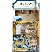 Apliques Chipboard - Sleigh Ride Noteworthy - Bo Bunny