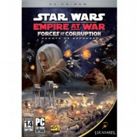 Star Wars Empire at War: Forces of Corruption PC-CD
