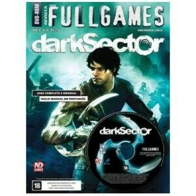 Revista Fullgames + Game Dark Sector PC DVD - ND Games