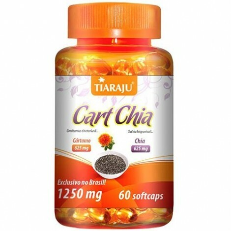 Cart Chia 1250 mg 60 Softcaps - Tiaraju