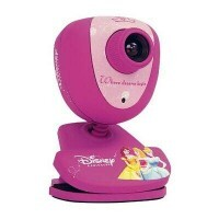 Webcam Clone Disney Princesas 2.0 Megapixels USB - Clone