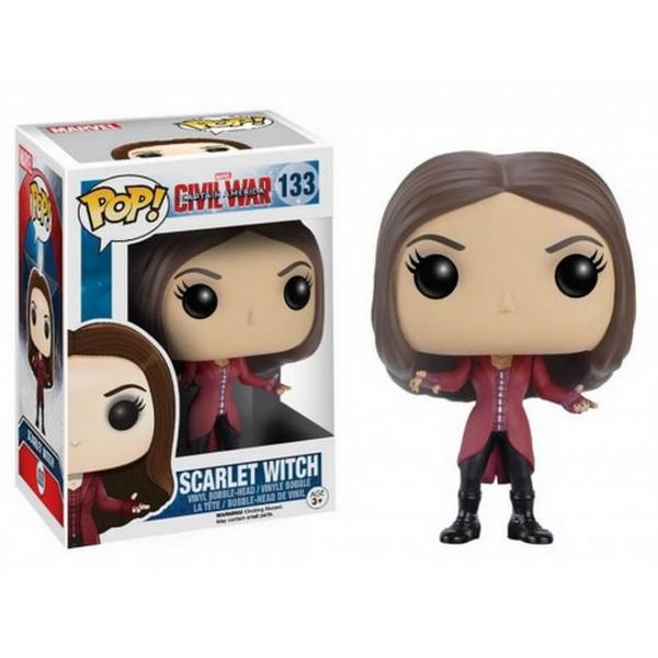 POP Marvel: Cap America 3 - Scarlet Witch
