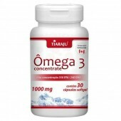 Ômega 3 Concentrate 1000 mg 30 Cápsulas Softgel - Tiaraju