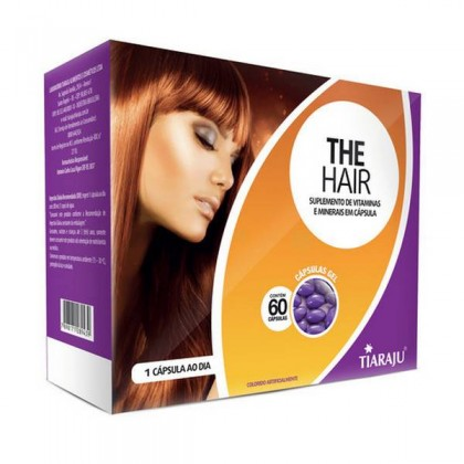The Hair 60 Cápsulas Softgel - Tiaraju