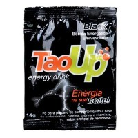Tao Up Black Energy Drink - Bebida Energética Efervescente - Suplanatural