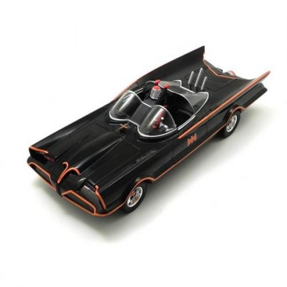 Batmóvel 1966 TV Series Batmobile Escala 1/24 - Hot Wheels