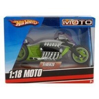 Hot Wheels Coleção Motocicletas Ferenzo 1:18 - Mattel