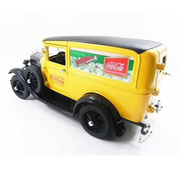 1931 Ford Model A Van Coca Cola 1/18 - Califórnia Toys