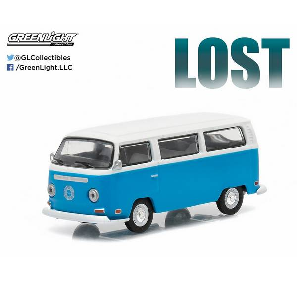 1971 VW Kombi T2 da Series Lost 1/18 - Califórnia Toys