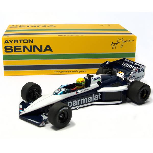 Brabham BMW BT52B Senna Test Car 1/18 - Califórnia Toys