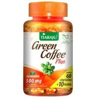 Green Coffee Plus 500 mg 60 Cápsulas Softgel - Tiaraju