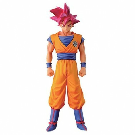 Action Figure Dragon Ball Z Chozousyu God Son Goku - Bandai Banpresto