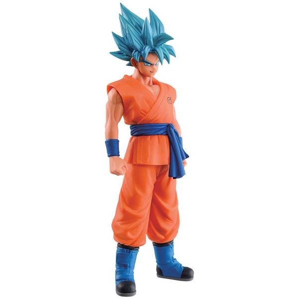 Action Figure Dragon Ball Z Movie Dxf Vol.1 Goku Blue - Bandai Banpresto
