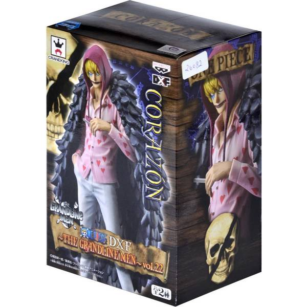 Action Figure One Piece - Dxf Grandline Men Vol.22 - Corazon - Bandai Banpresto