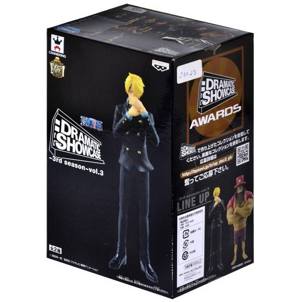 Action Figure One Piece Dramatic Showcase 3rd Season Vol.3 Sanji - Bandai Banpresto