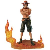 Action Figure One Piece Dxf Brotherhood Ii Portgas. D. Ace - Bandai Banpresto