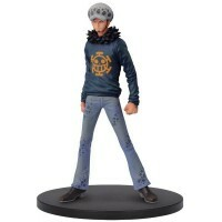 Action Figure One Piece Dxf Grandline Men Vol.22 Law - Bandai Banpresto