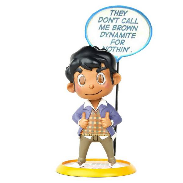 Action Figure The Big Bang Theory - Raj Q-Fig - Quantum Mechanix