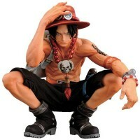 Action Figures One Piece King Of Artist - The Portgas D. Ace - Bandai Banpresto