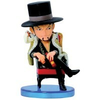 Action Figure One Piece Wcf Log Collection Vol.1 Lucci - Bandai Banpresto
