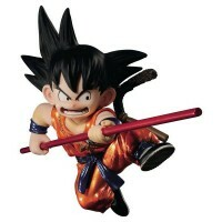 Action Figure Dragon Ball Scultures Son Goku Figure Special Color Version - Bandai Banpresto