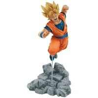 Action Figure Dragon Ball Super Soul X Soul Figure - Super Saiyan Goku - Bandai Banpresto