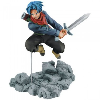 Action Figure Dragon Ball Super Soul X Soul Figure - Trunks - Bandai Banpresto