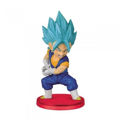 Action Figure Dragon Ball Super Wcf Figure Collection Vol.7 - Super Saiyan Blue Vegito - Bandai Banpresto