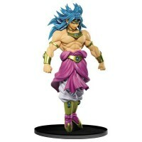 Action Figure Dragon Ball Z Sculture Big Budoukai 7 Vol. 3 Figure Collection - Broly - Bandai Banpresto