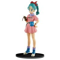 Action Figure Dragon Ball Z Sculture Big Budoukai 7 Vol.5 Figure Collection Bulma - Bandai Banpresto