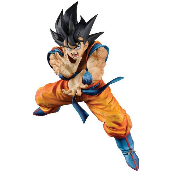 Action Figure Dragon Ball Z Super Kamehame-Ha Figure Collection - Goku - Bandai Banpresto