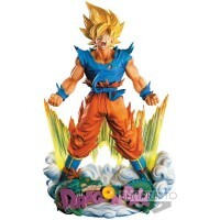 Action Figure Dragon Ball Z Super Master Star Diorama Figure - Son Goku - The Brush - Bandai Banpresto