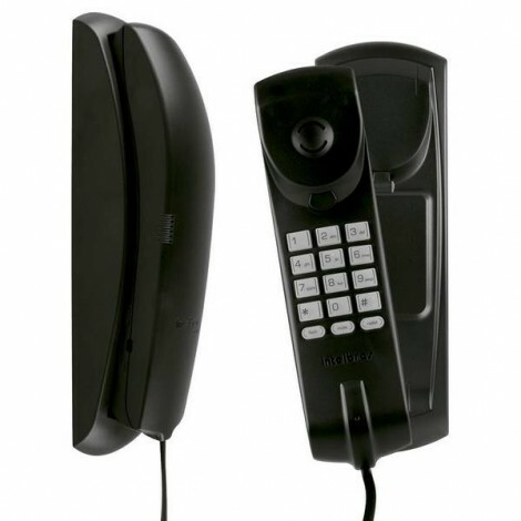 Telefone Gôndola Color TC 20 Preto - Funções Flash, Tom e Rediscar - Teclado Luminoso - Intelbras