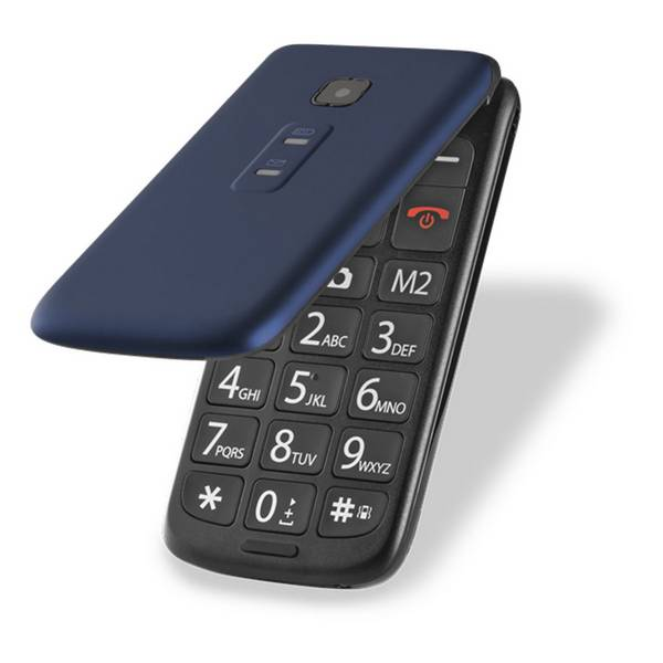 Celular Flip Up Dual Chip Azul P9020 - Multilaser