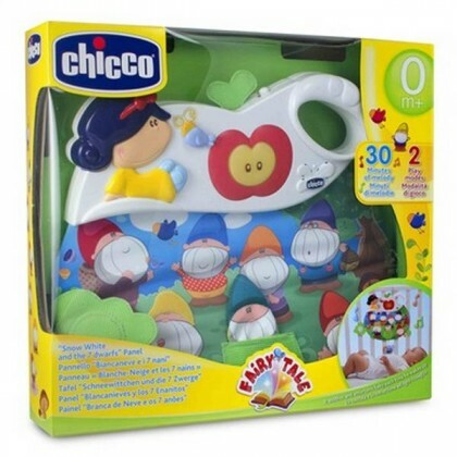 Painel Branca Neve e Os 7 Anoes 60133 - Chicco Toys