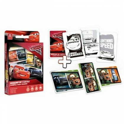 Domino Cartas Carros 98486 - Copag Games