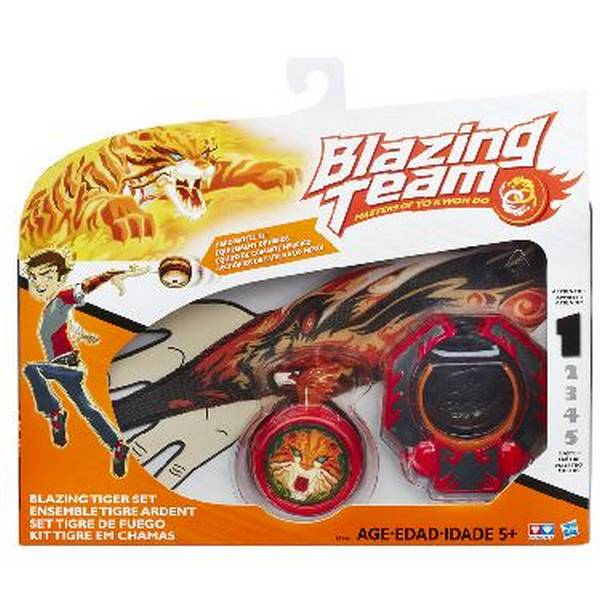 Ioio L1 Tiger Set Blazing Team B5966 - Hasbro