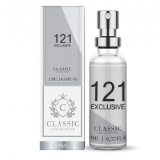 Fragance Classic 121 Exclusive - Perfume Masculino 15ml