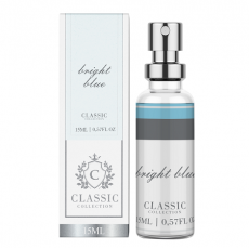 Fragance Classic Bright Blue - Perfume Feminino 15ml